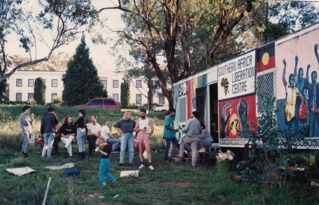South African Liberation Centre, Canberra, 1989 (Source: James Godfrey)